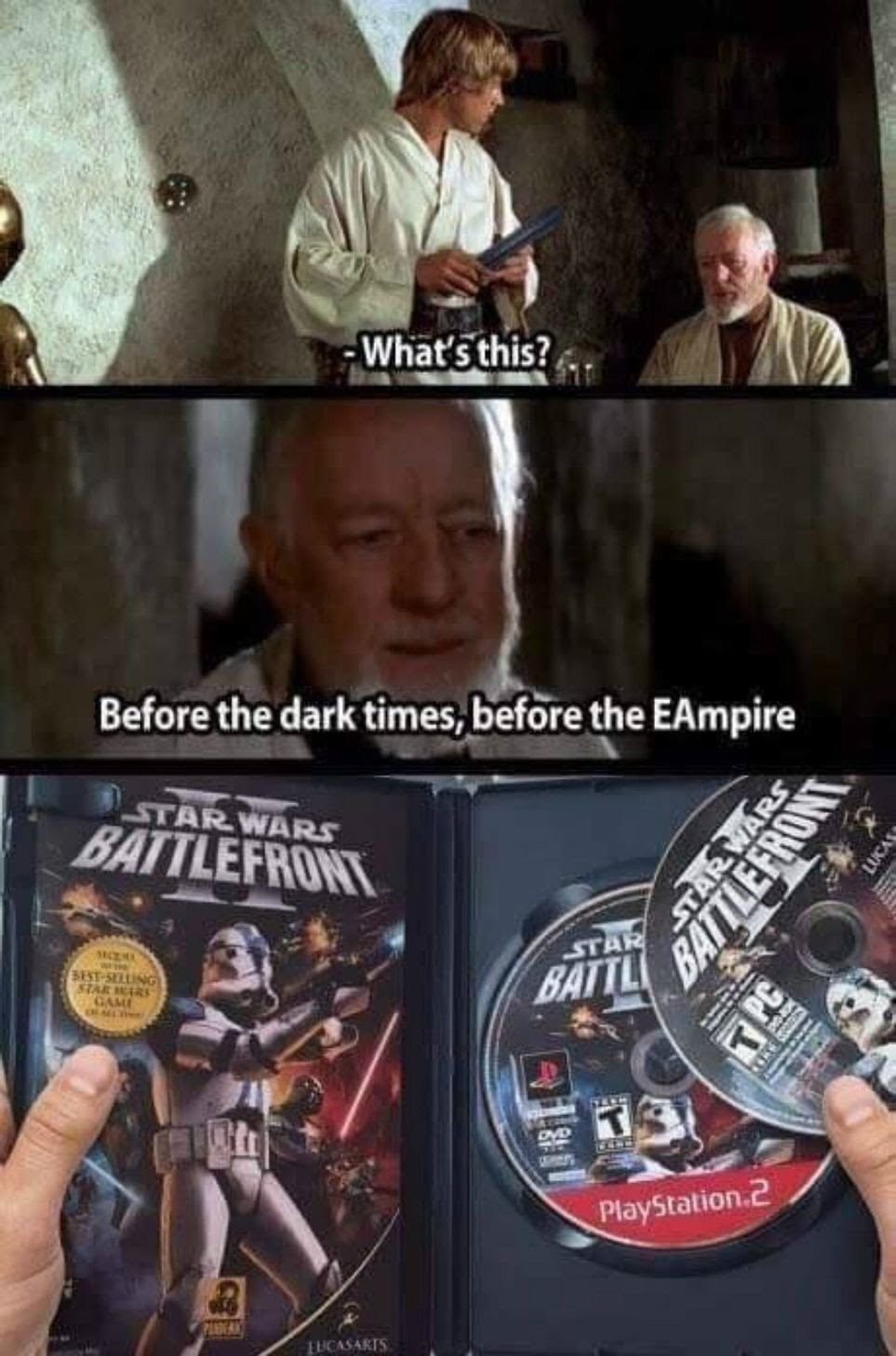 EA is okay, they can just do better - meme