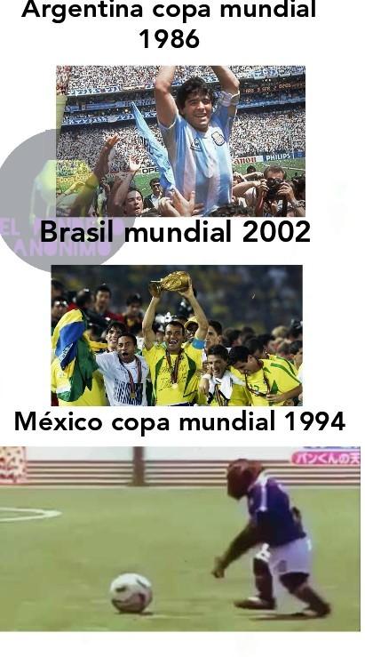 No me gusta el deporte pero mi país es una cagada en cuanto a eso y si me equivoqué con algo en los memes como el año o algo así es por eso mismo