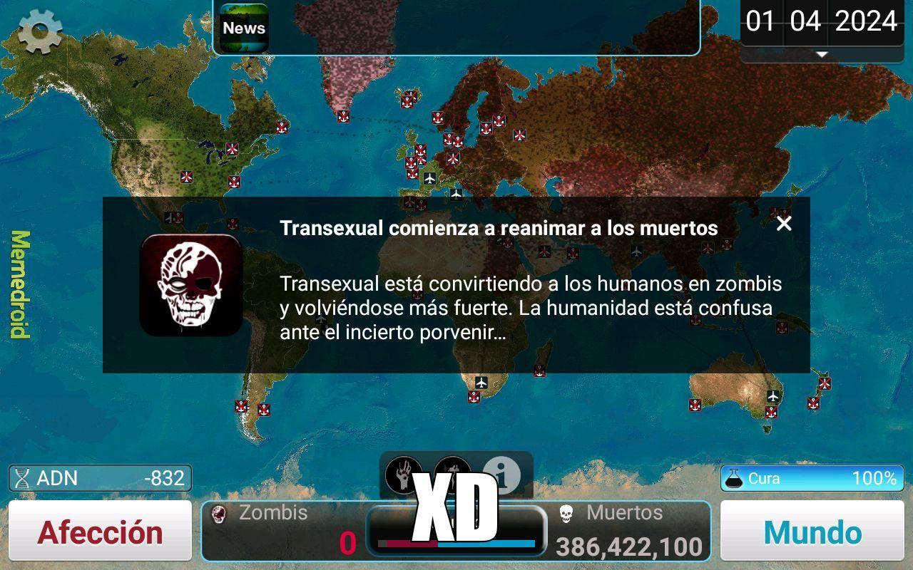 ahora los transexuales reviven a los muertos :raising: - meme
