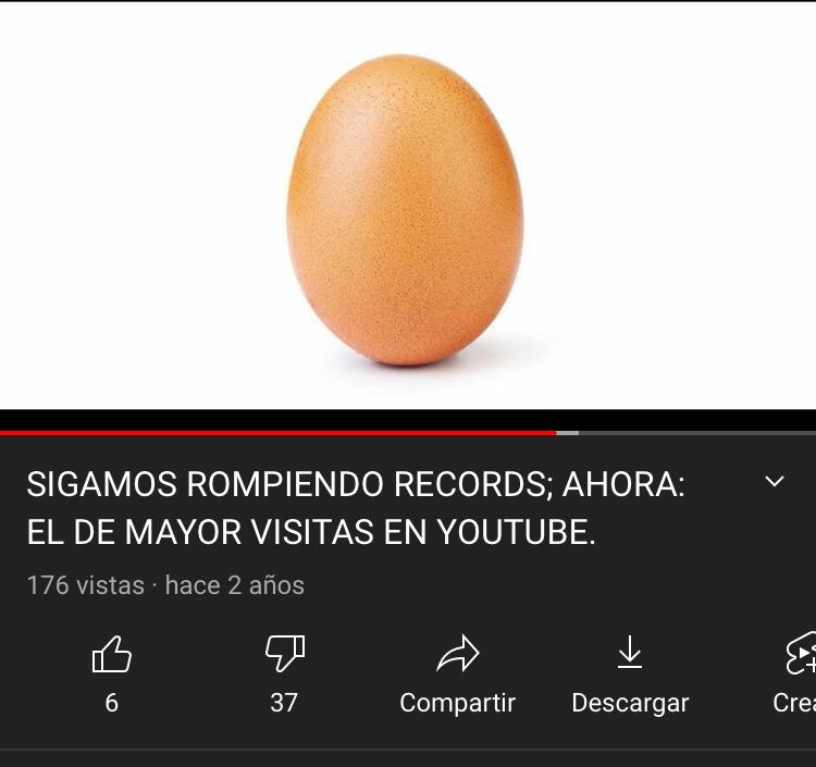 EL HUEVO MAS VISTO DE YOUTUBE!!1!!1! - meme