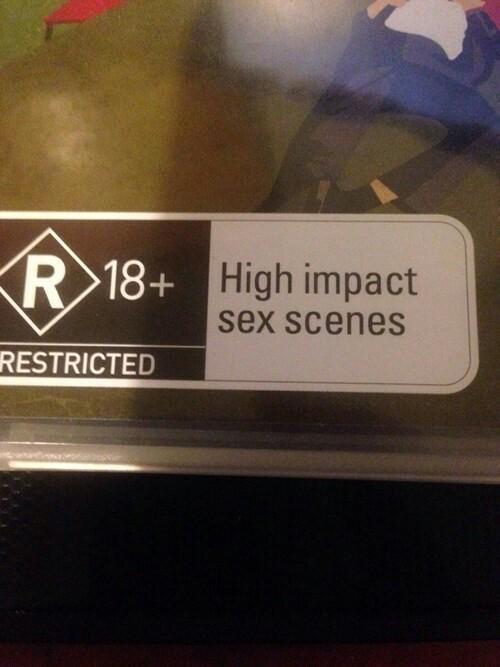 "It worries me what constitutes as ""high impact"" - meme"