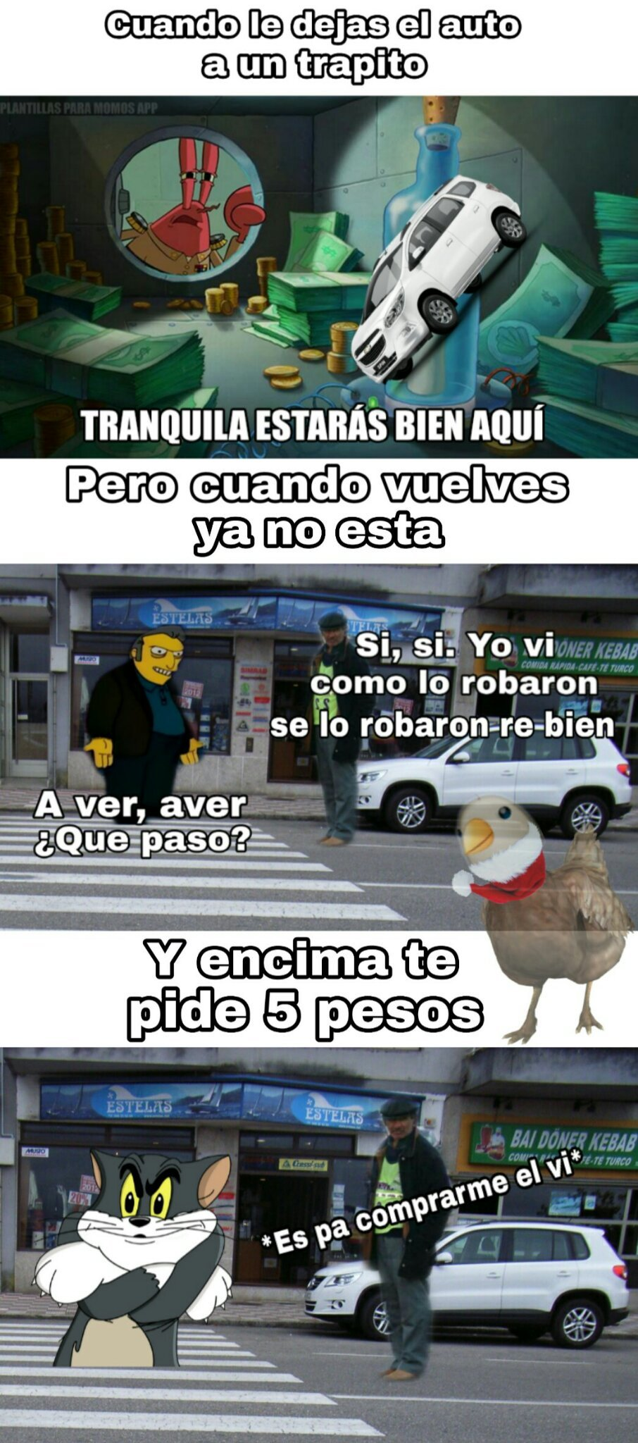 Trapitos 7w7 - meme