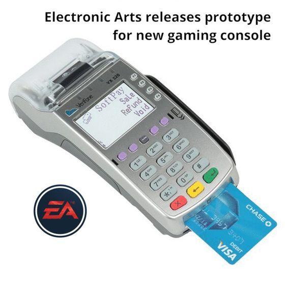 EA be liek - meme