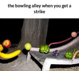 bowling alleys be like - meme