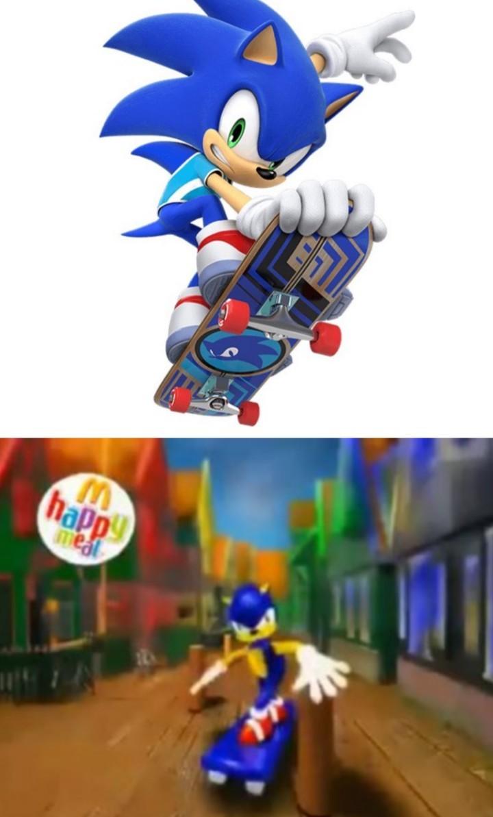 tremendo el nuevo Mario & Sonic - meme