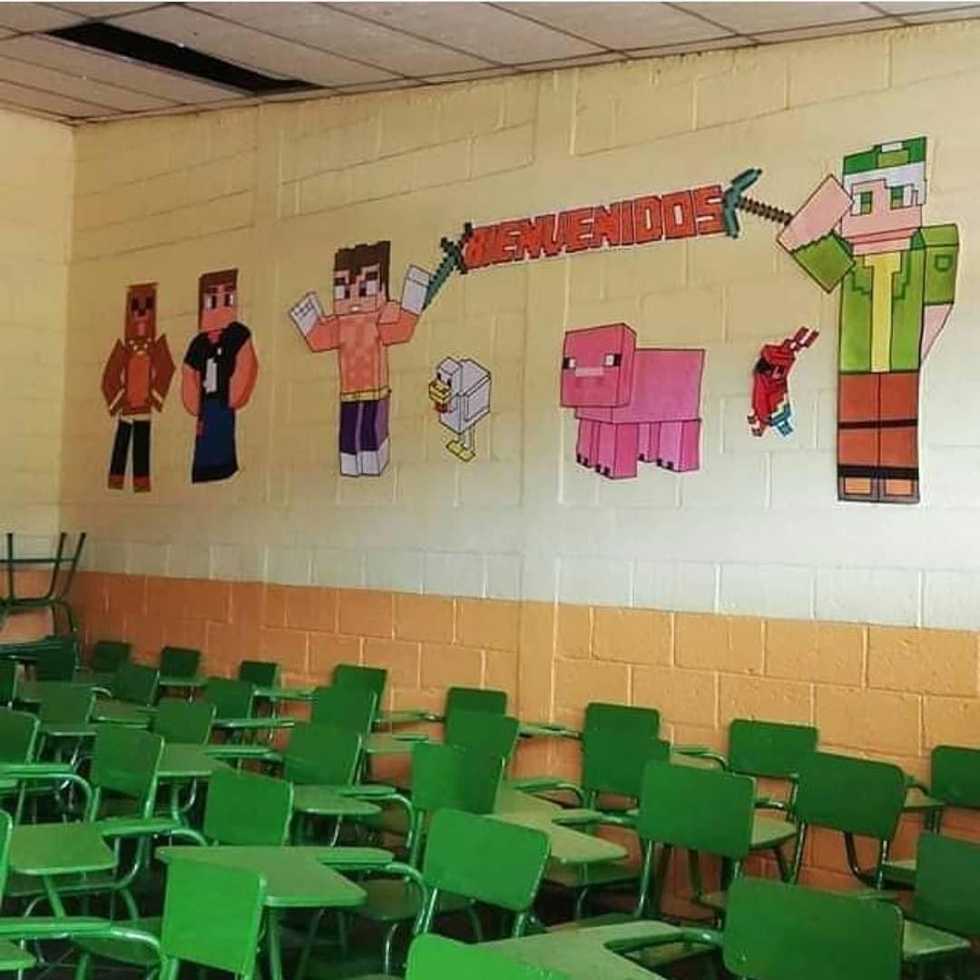 Yo y los pibes at the school - meme