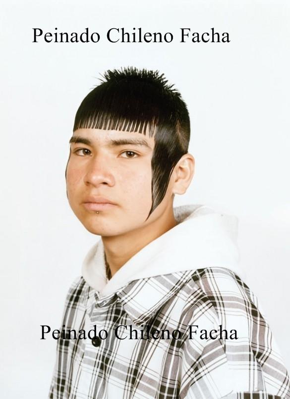Peinado Chileno Facha - meme