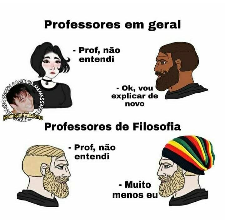 Professor maconheiro (n sei c é repost c for n passa mod) - meme