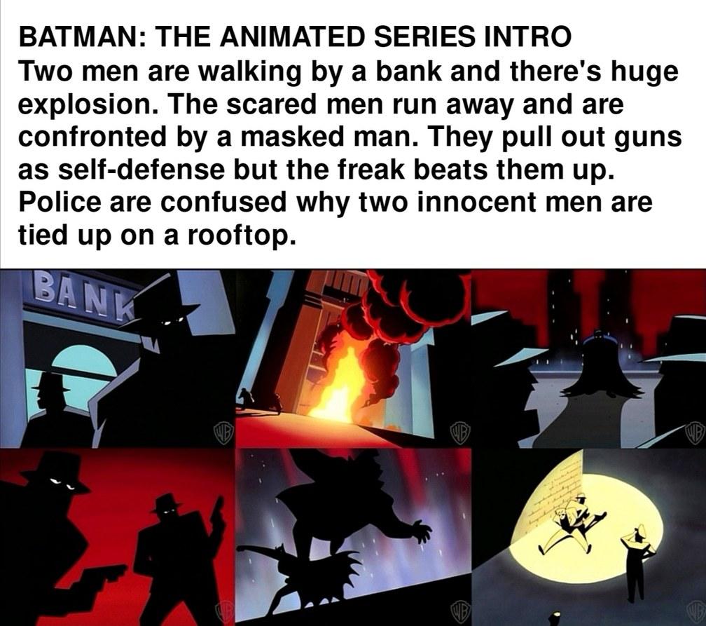 Batman is a menace - meme