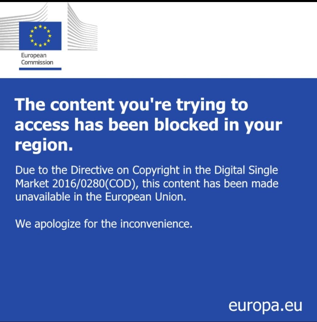 How often do the EU folks see this? - meme