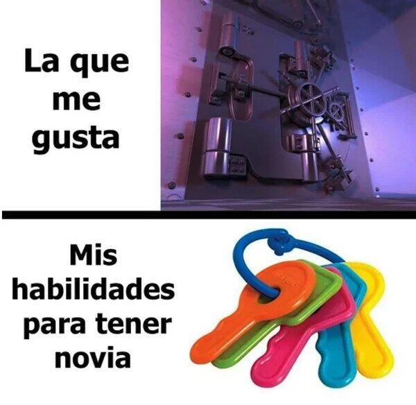 Las llaves - meme