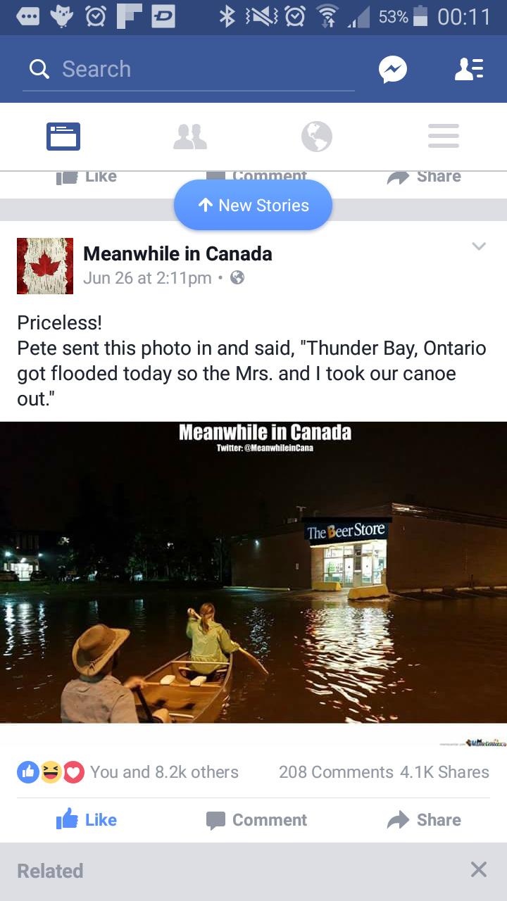 Thunder Bay,  eh? - meme