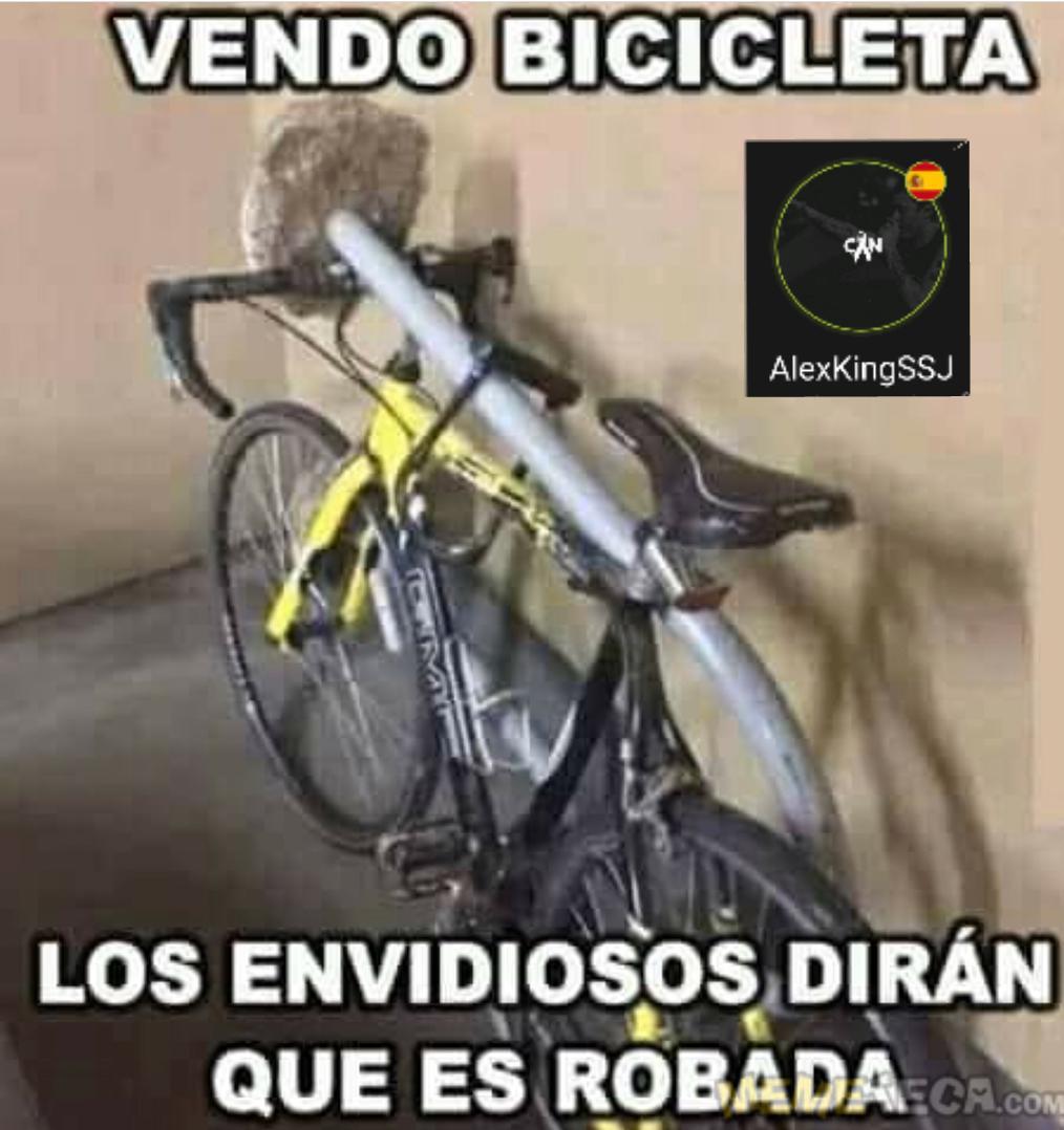 Vendo Bici - meme
