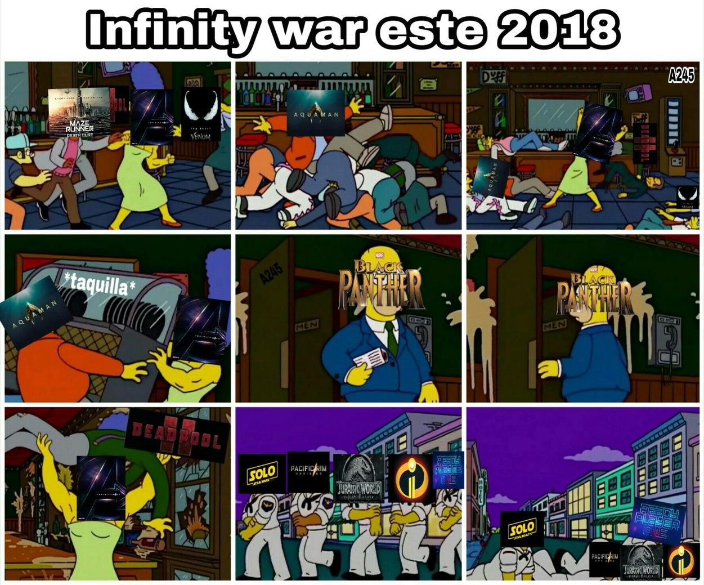 Resumen de 2018 - meme