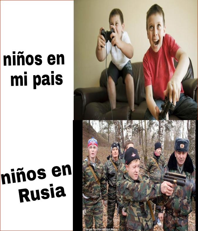 Tipos de niños - meme