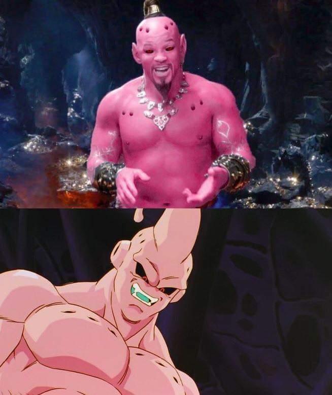 Buu in Aladdin - meme