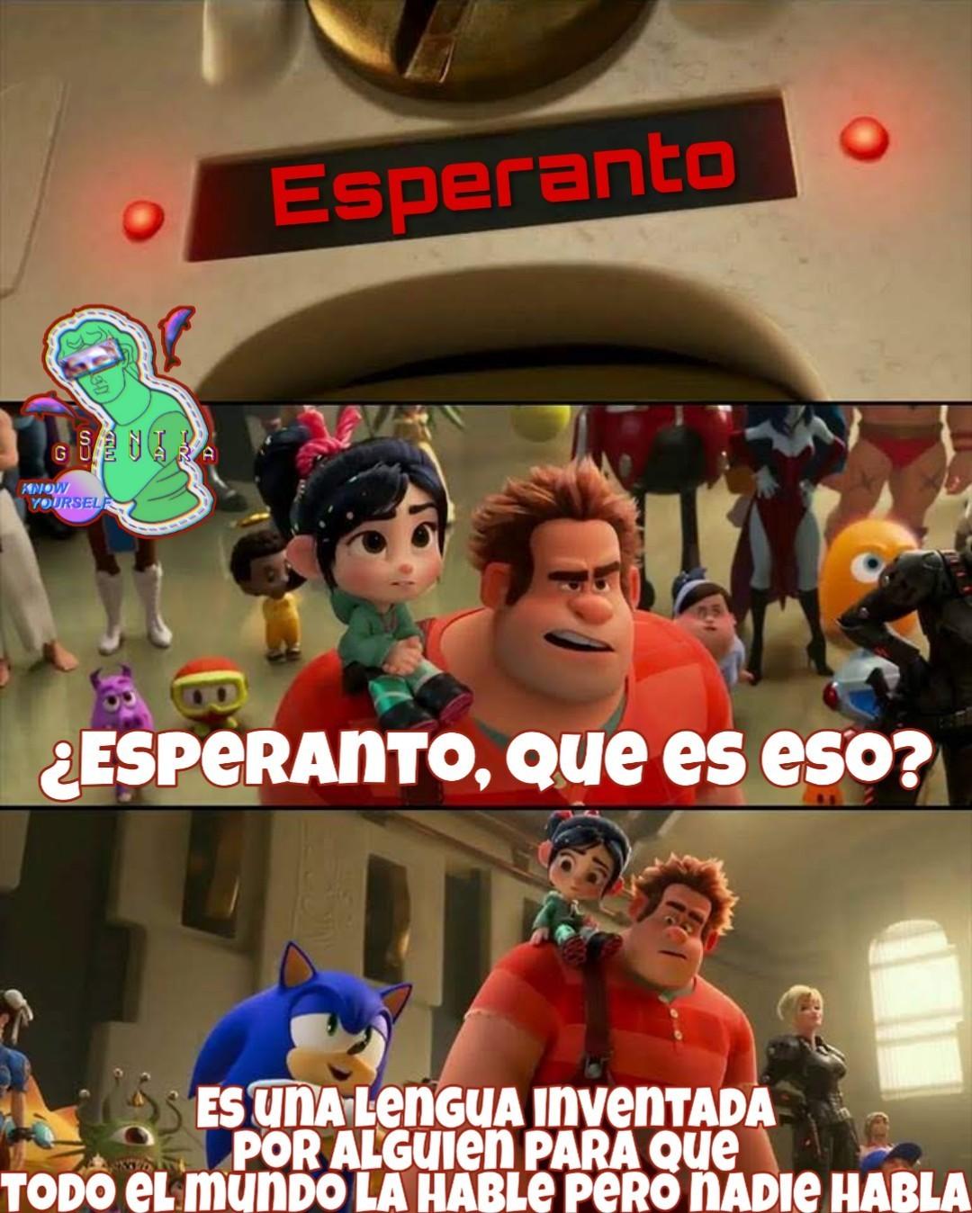 Mi parolas la Esperanton - meme
