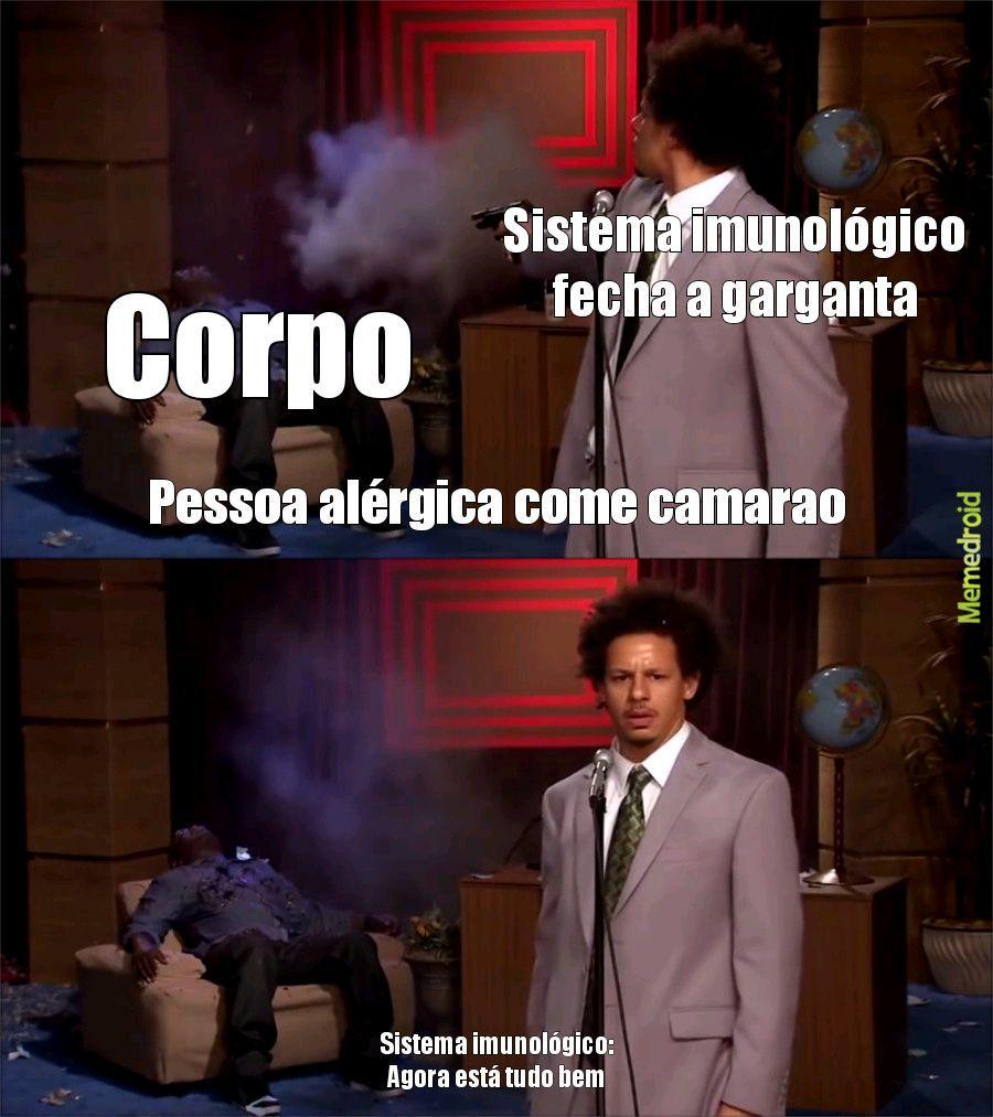 Alergia a alegria - meme