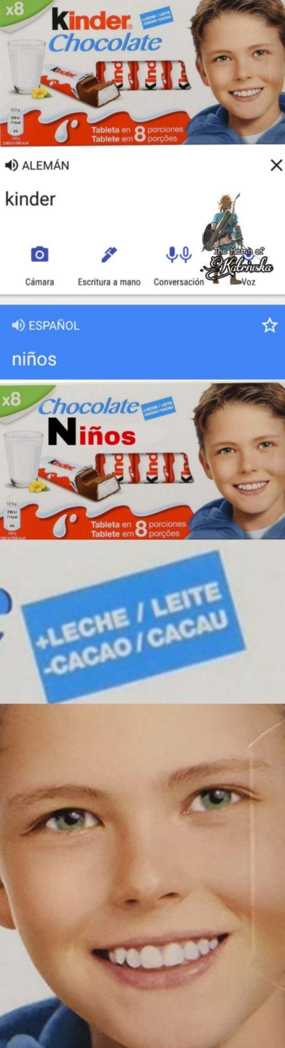 LECHE DE NIÑO - meme