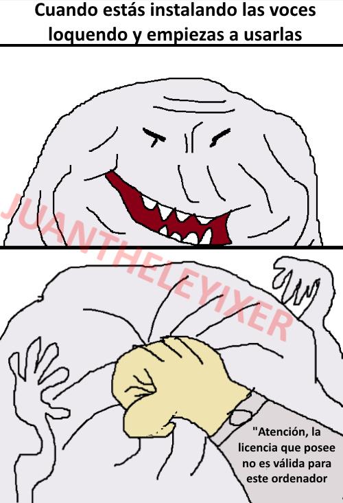 Garka loquendo - meme
