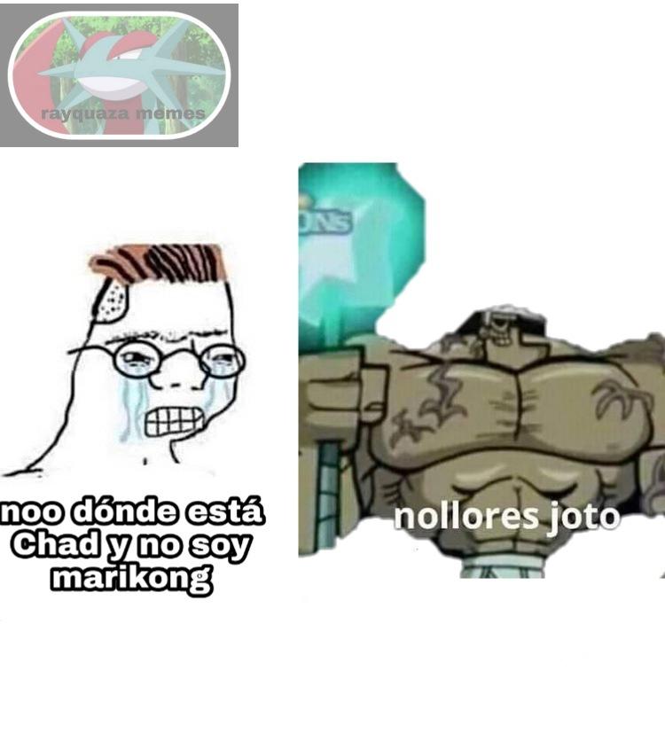 No llore marikong - meme