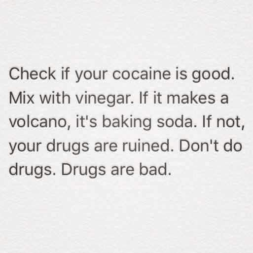 Drugs r bad mkay - meme