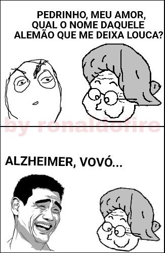 ALZHEIMER VÓ - meme