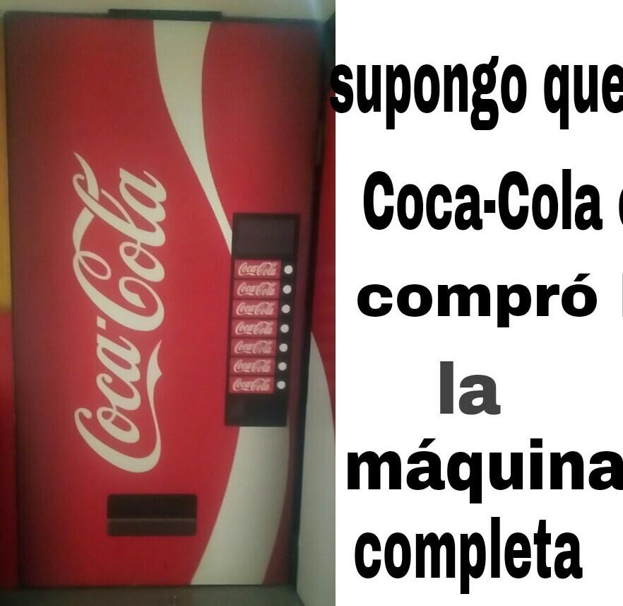 Coca-Cola no es pepsi - meme