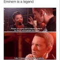 Eminem is a legend