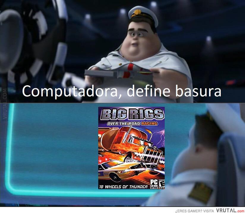 Basura extrema - meme