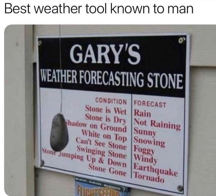 beat weather machine ever - meme