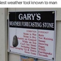 beat weather machine ever