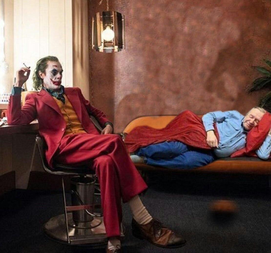Joker de carvalho - meme