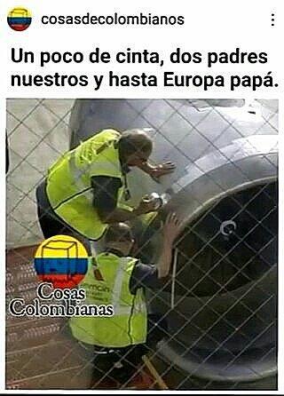El titulo es de colombia - meme