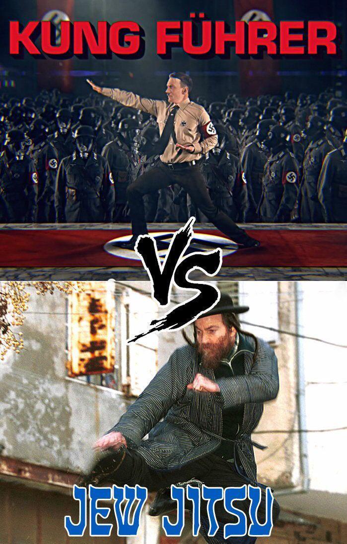 An epic duel - meme