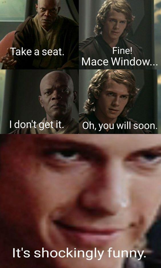 Mace Window! - meme