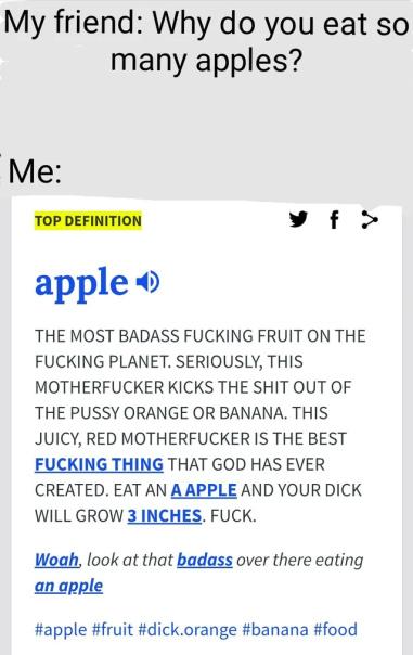APPLES! - meme