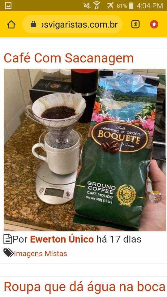 Café feito por cuiér - meme