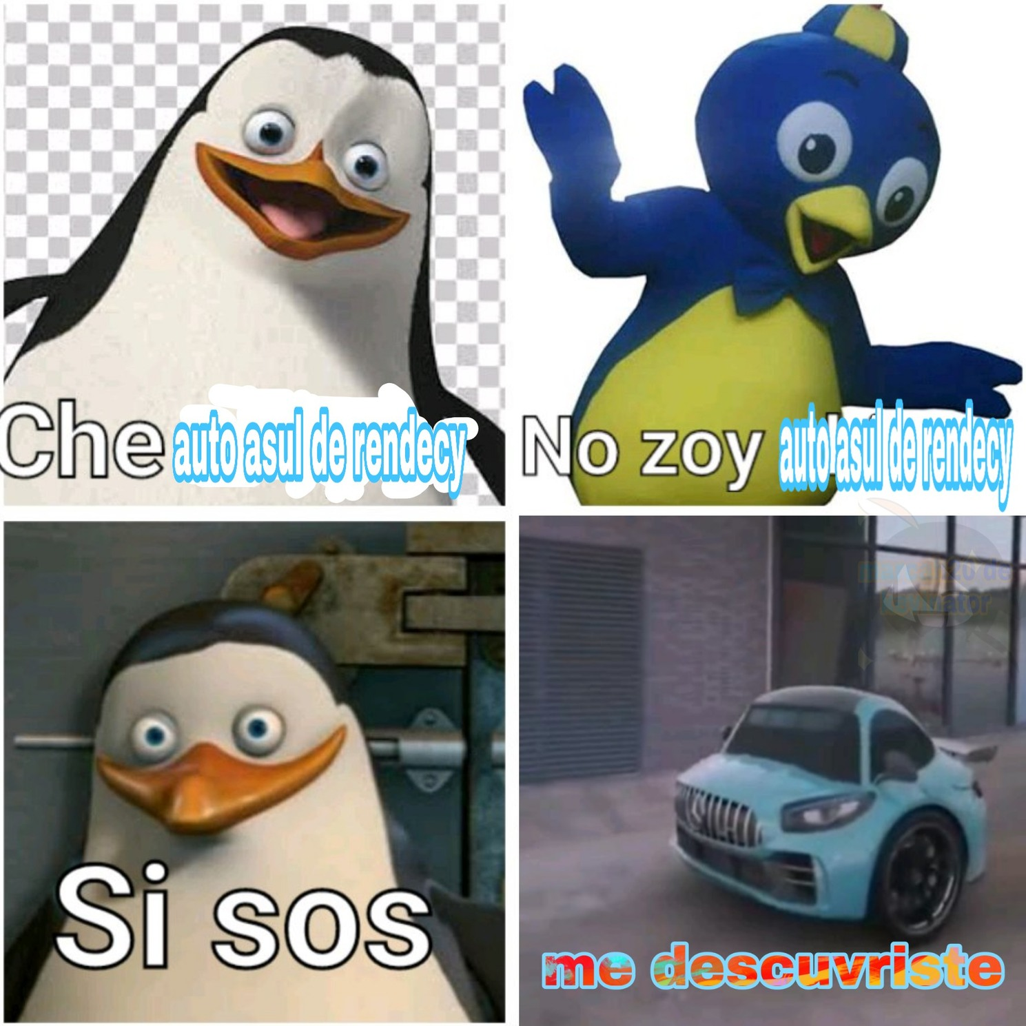 El auto rendecy - meme