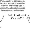 Do not watch porn