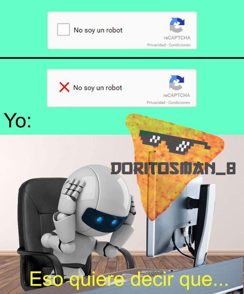 Robot Existencialista - meme