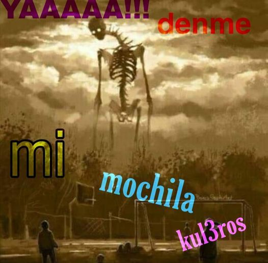 Ah culeros - meme