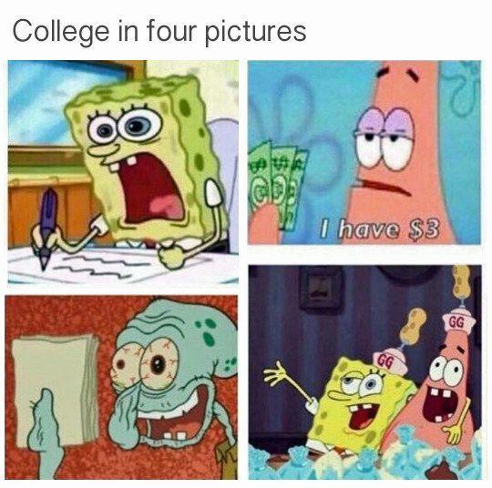 College must be nice - meme