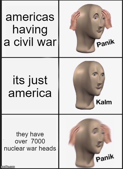 bruh america yall scaring canada - meme