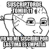 Subs de tomiii 11 : - meme