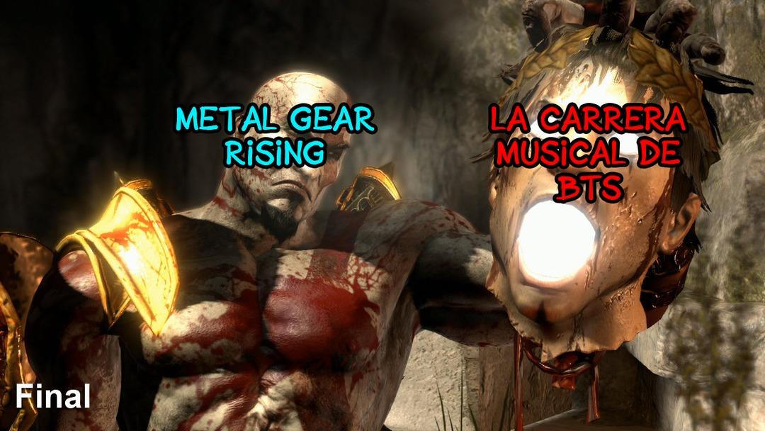 ¿Alguien se acuerda del metal gear rising y sus temazos? - meme