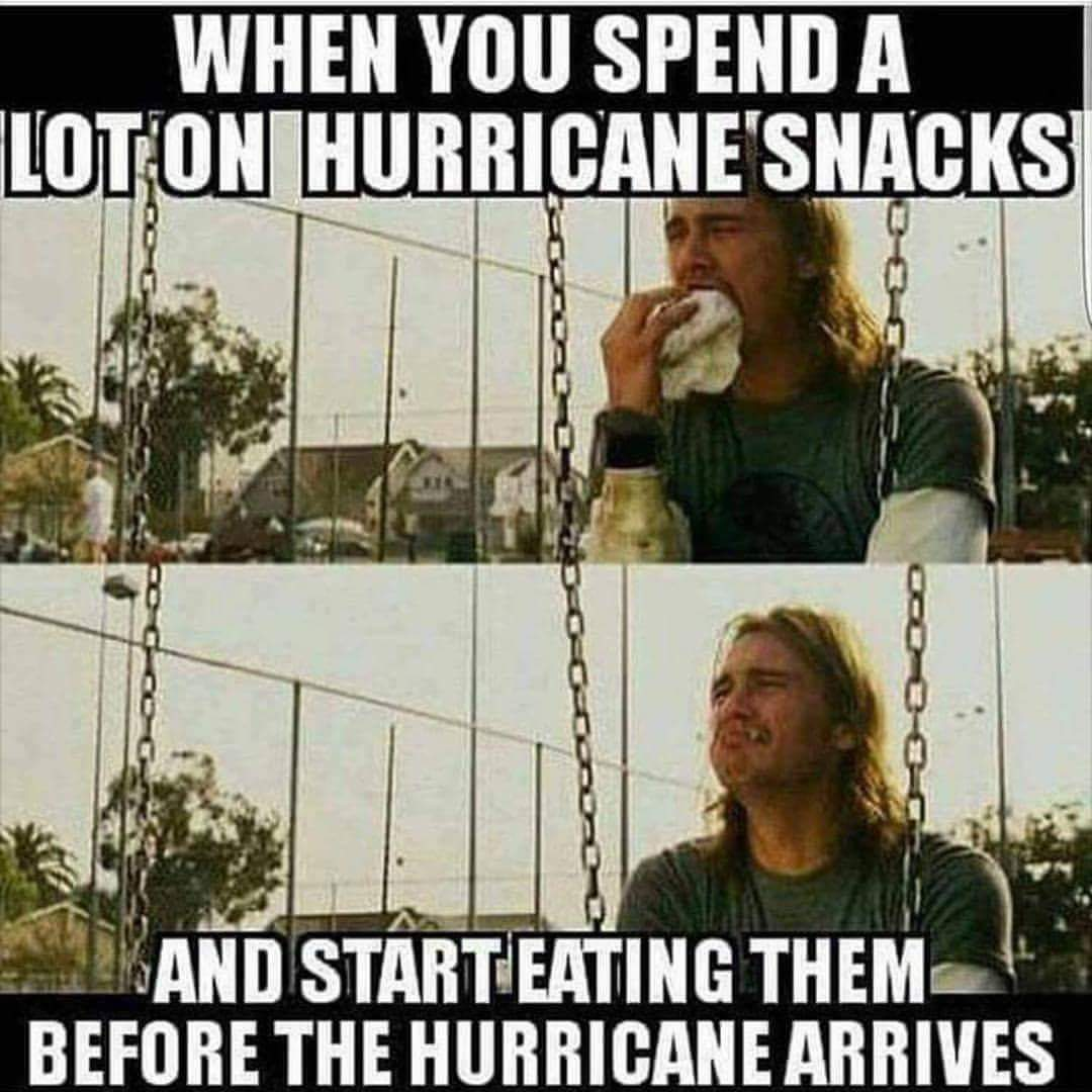 My current situation in Houston - meme