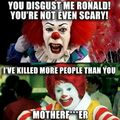 when pennywise and ronald meet each other
