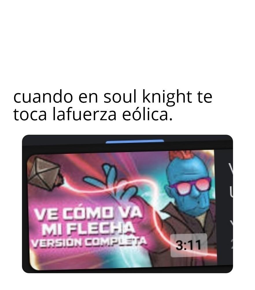 Para los fans de soul knight :D - meme
