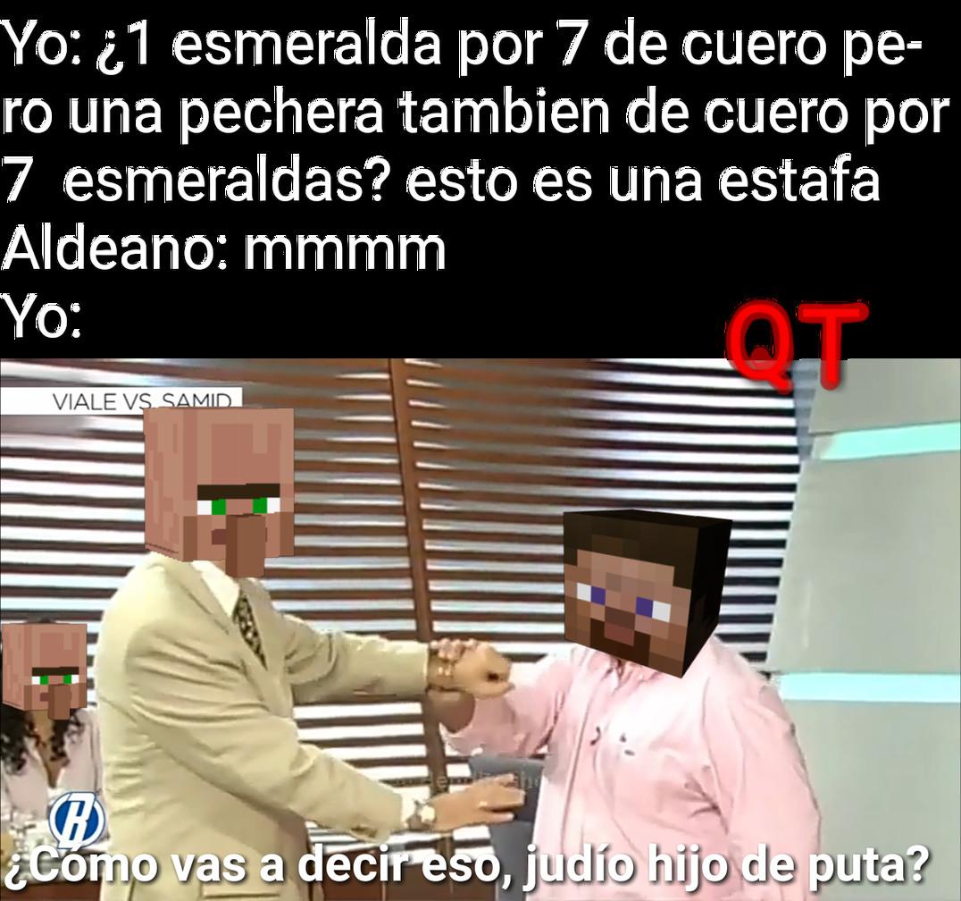 Aldeanos = judíos de España - meme